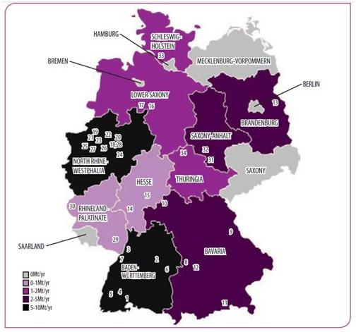 德国水泥生产线布局图